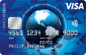 VISA World Card von ICS
