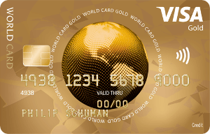 VISA World Card Gold von ICS