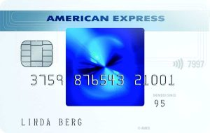 Blue Card von American Express
