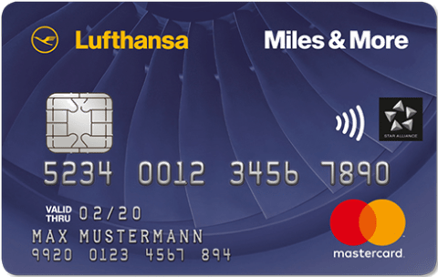 Lufthansa Credit Card Blue