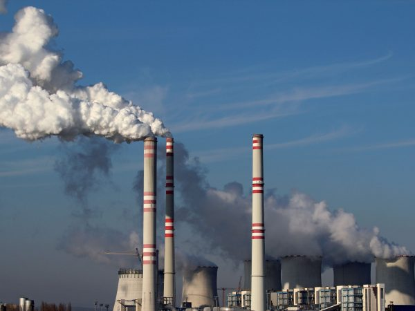 14441724 – huge smoke from coal power plant
